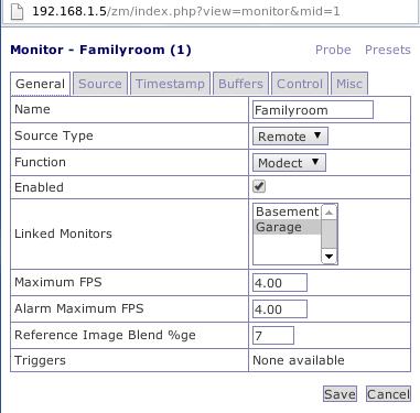 Foscam FI8918W control script for ZoneMinder   Web3us LLC